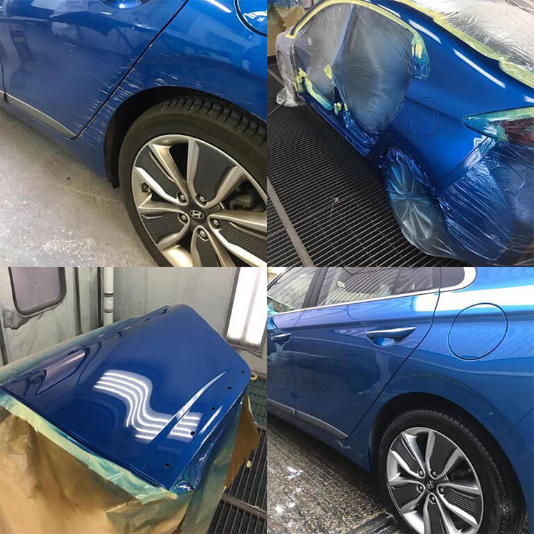 Hyundai Crash Repair Collage